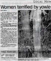 Yowie newspaper