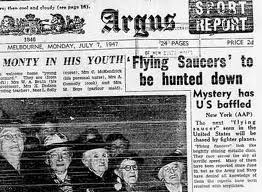 Flying saucers RAAF