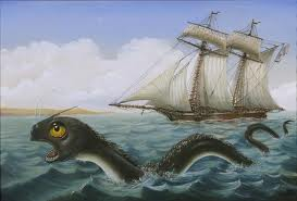 Sea serpent ship