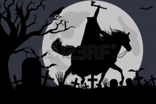 Ghost headless horseman